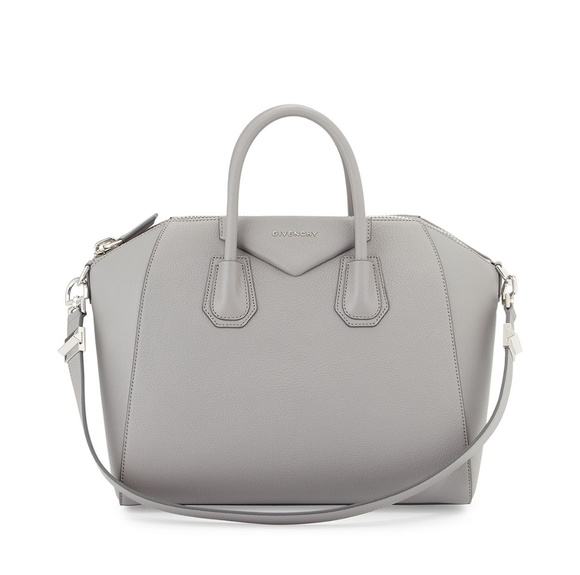 Givenchy Handbags - Givenchy Antigona Medium Satchel Bag, Pearl  gray